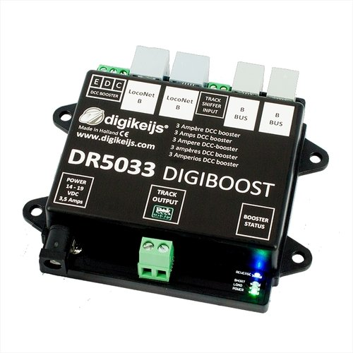 Digikeijs DR5033-ADJ DCC Multi-Bus Booster